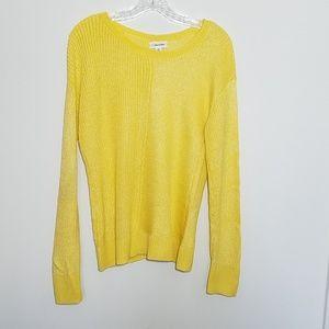 Calvin Klein Yellow Sweater